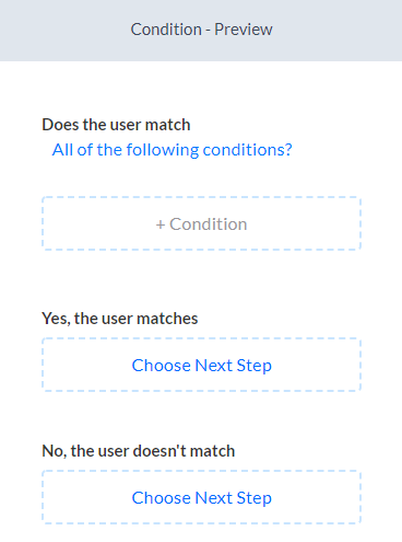condition flow setup silfer bots