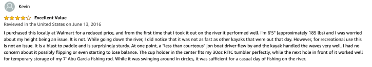 lifetime kayak reviews