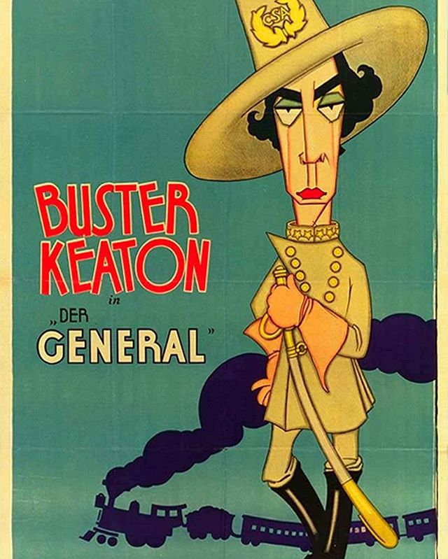 El maquinista de la general (1927, Buster Keaton y Clyde Bruckman)
