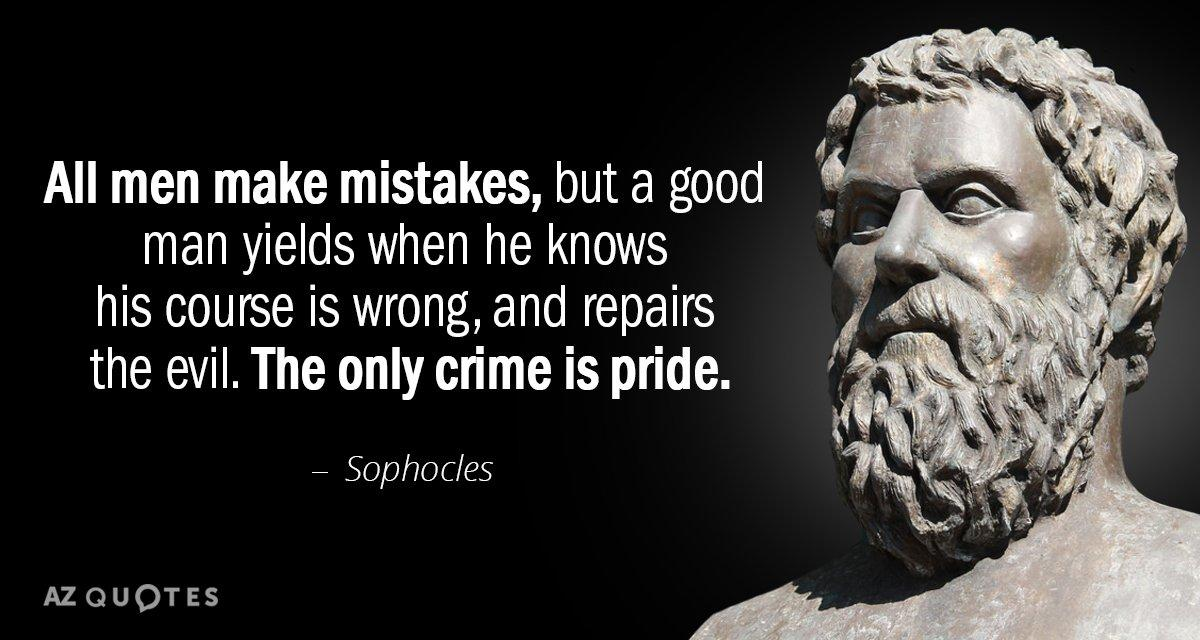 TOP 25 QUOTES BY SOPHOCLES (of 421) | A-Z Quotes