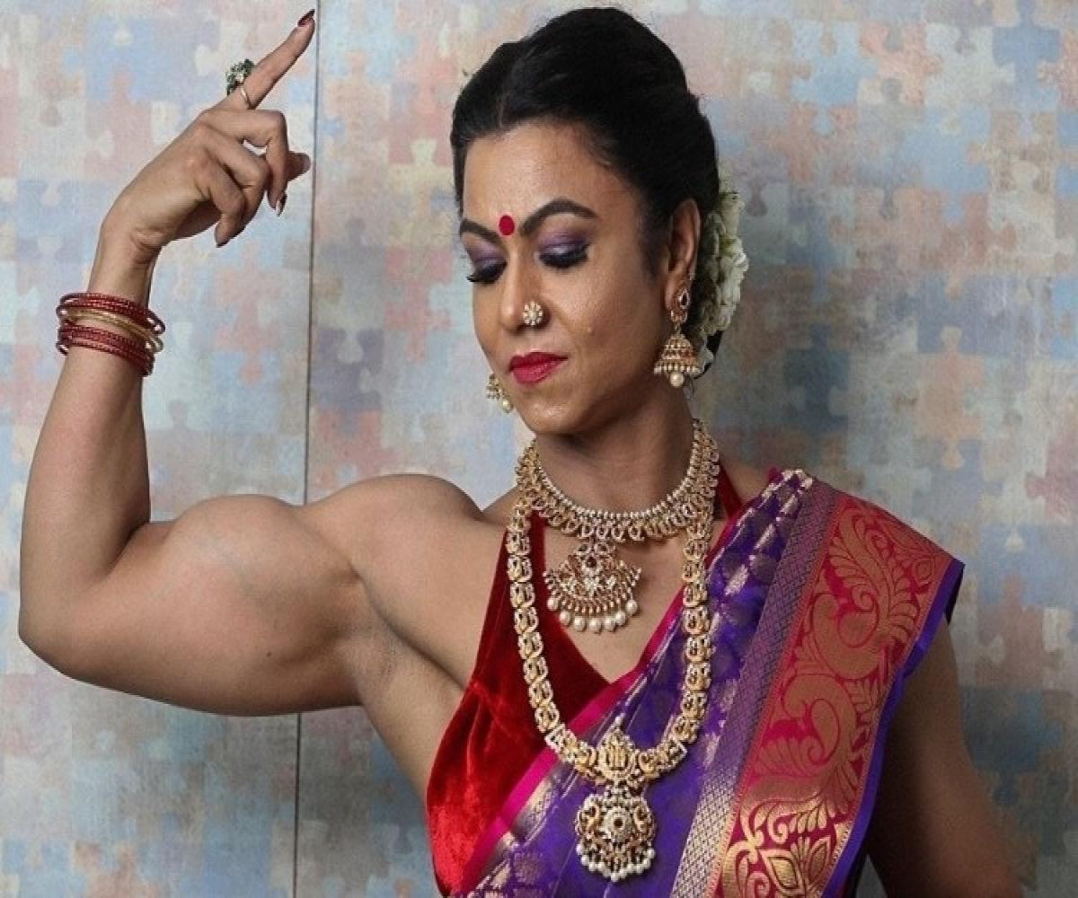 Meet Hyd's bodybuilding champ Kiran Dembla, one of the few women in the  field   The News Minute