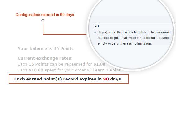 Points expiration