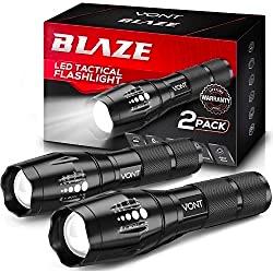 Blaze Tactical Flashlight (2 Pack)
