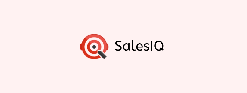 SalesIQ - conversion rate optimization tools