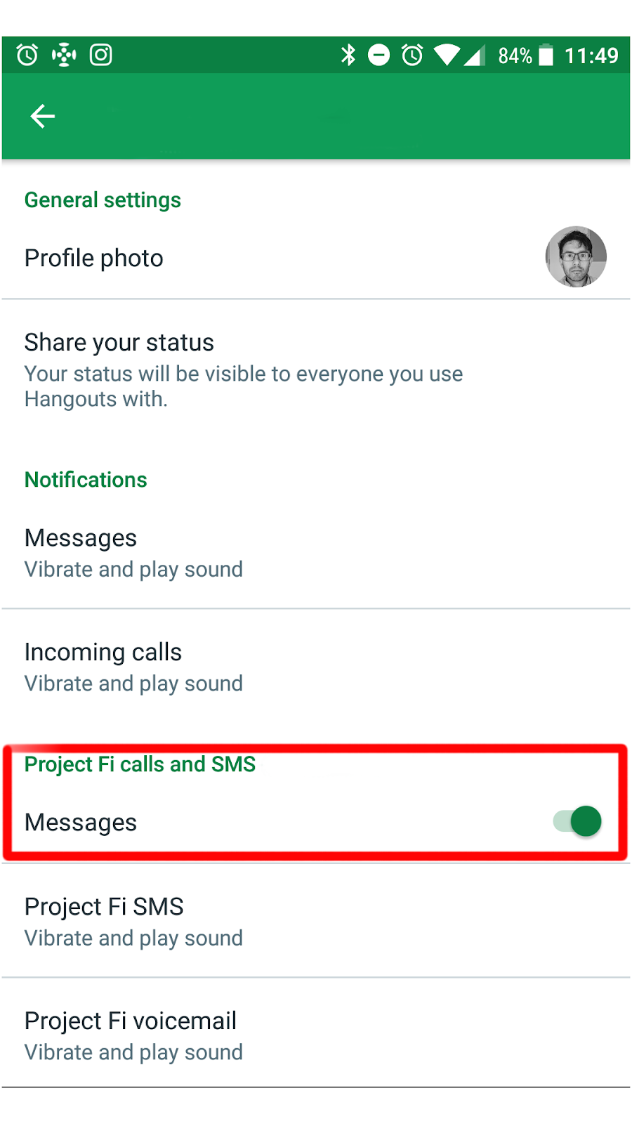 Update Project Fi And Hangouts Sms Google Product Forums