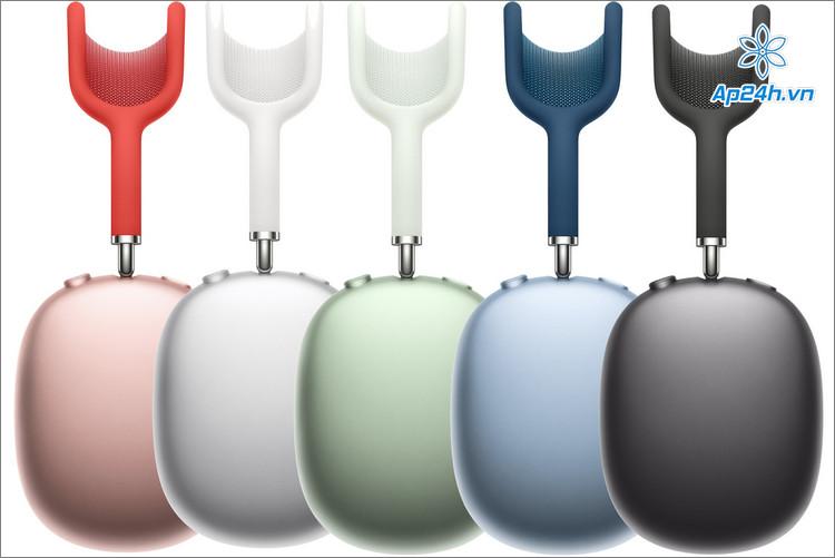 AirPods Max có 5 màu sắc cho người dùng lựa chọn