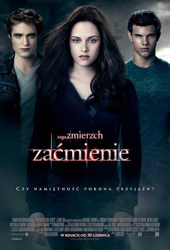Polski plakat filmu 'Saga Zmierzch: Zaćmienie'