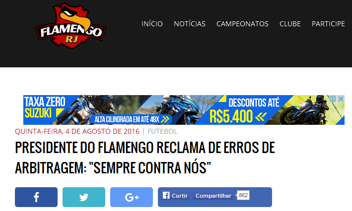 Chororô do Flamengo