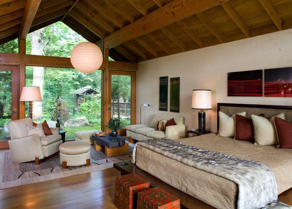 Phòng ngủ gần gũi với thiên nhiên