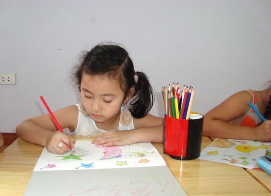 Lớp dạy vẽ tại TPHCM