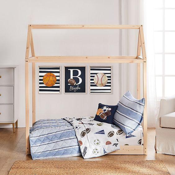 Sport Themed Bedroom Ideas for Toddler Boys