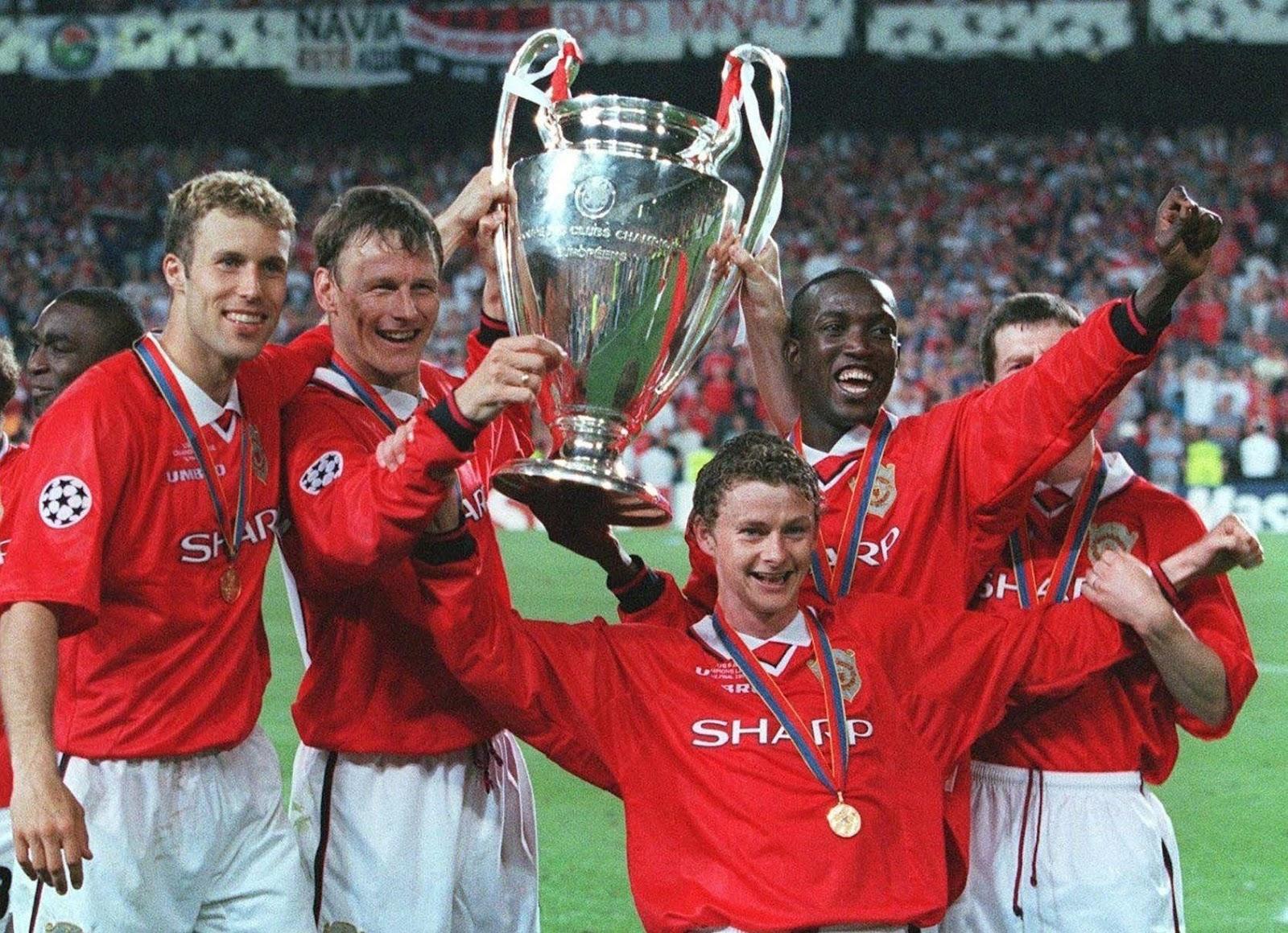 Kết quả hình ảnh cho Manchester United vs Bayern Munich 2-1 ( 1999 UEFACL Final)