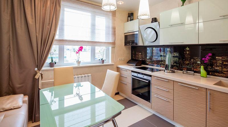 сучасні штори для кухні