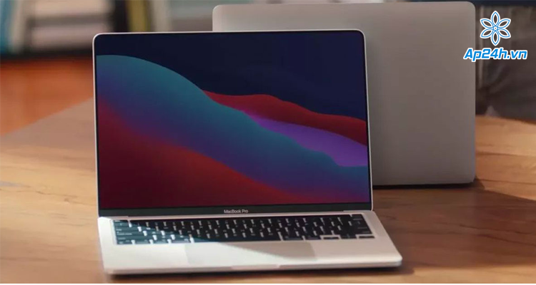 Máy tính MacBook Pro trang bị chip M1