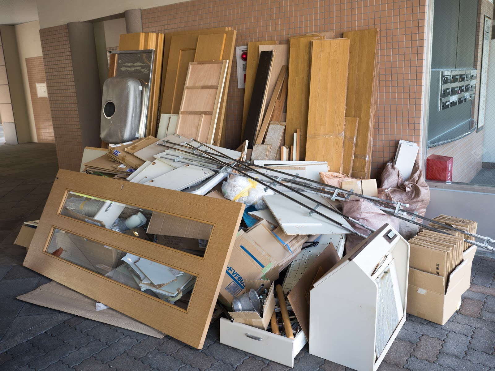 disposing of remodeling waste