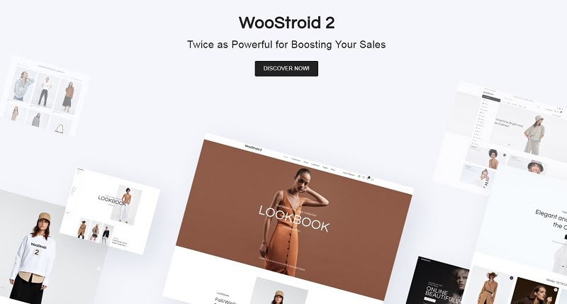 Woocommerce themes WooStroid 2