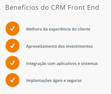 CRM Front End
