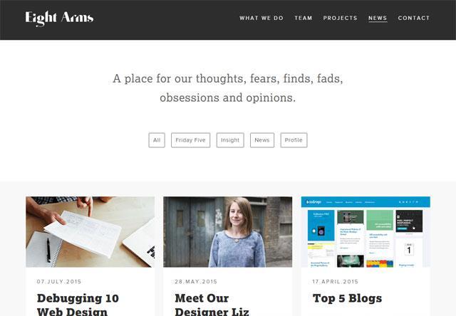 Best Blog Design Examples
