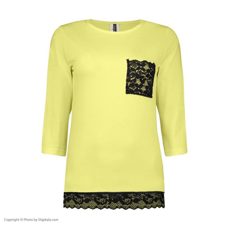 ست تی شرت و شلوار زنانه کیکی رایکی مدل BB6301-023