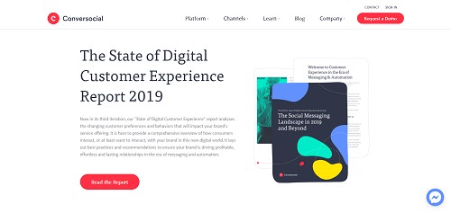 The State of Digital Customer Experience Report 2019