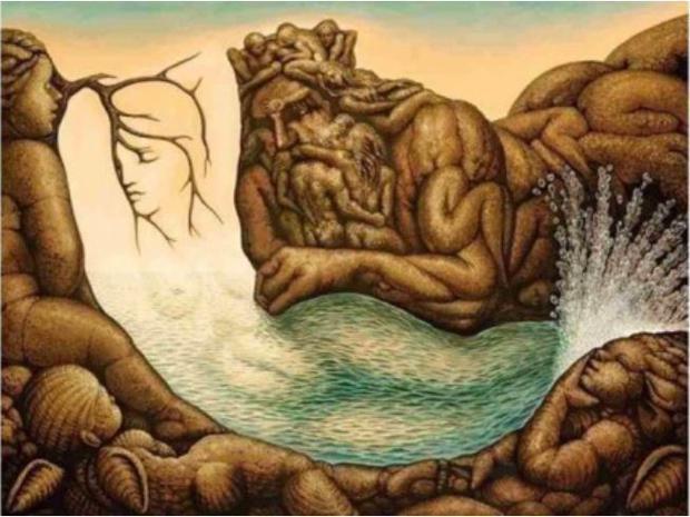 Escolha uma das duas figuras da imagem e descubra aspectos ocultos de sua personalidade.  (Foto: Pinterest)