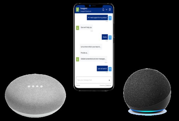 Integration with AI voice Assistants