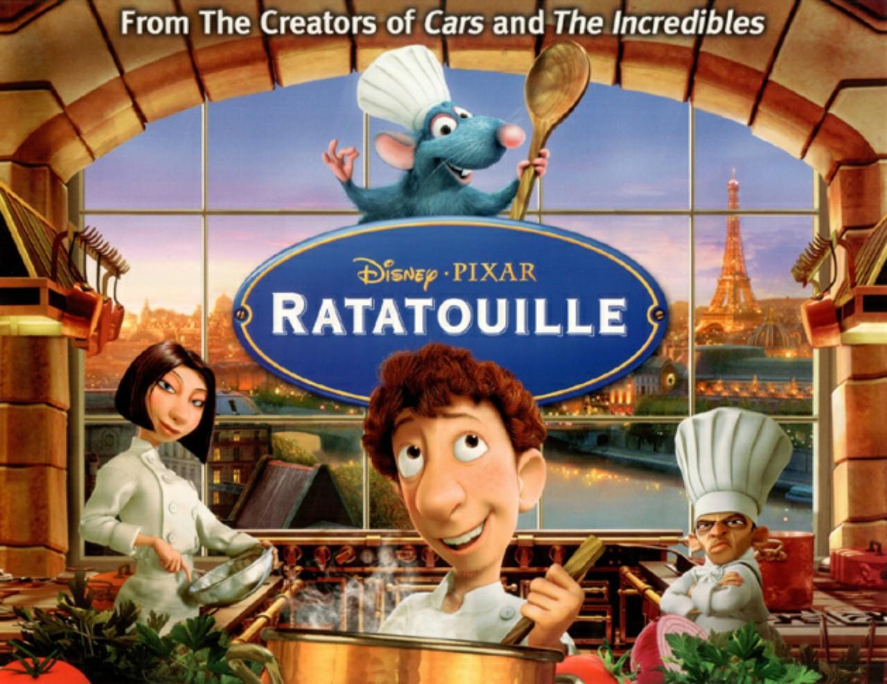 Main characters of Ratatouille