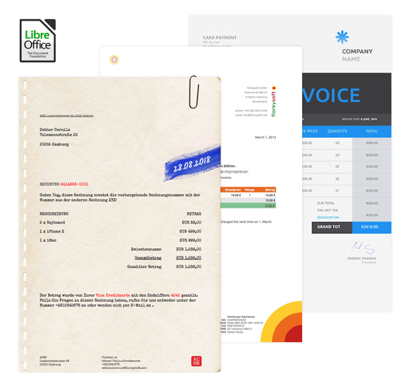 Invoices For Stripe