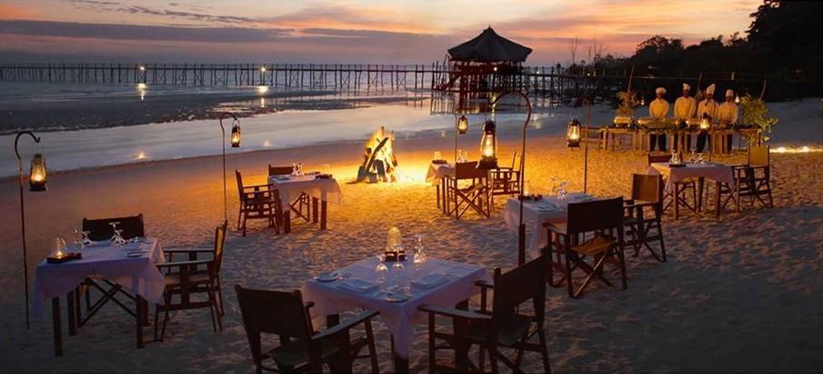 Tiệc nướng BBQ trên bãi biển Cô Tô tại sao không?
