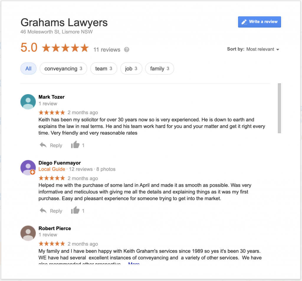 local seo guide reviews