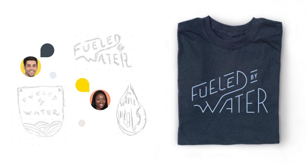 Bonfire Studio, custom t-shirt design services, graphic