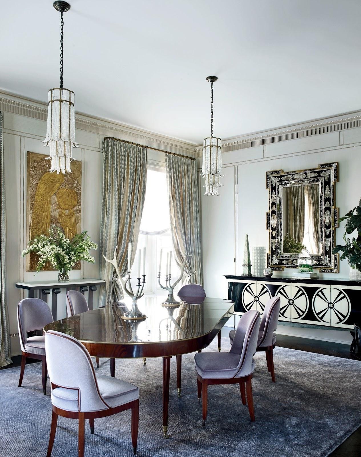 Inspirasi hunian dengan desain interior art deco - source: architecturaldigest.com