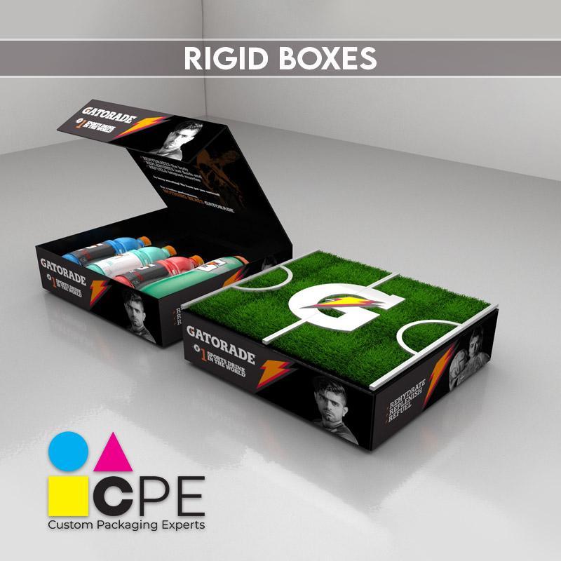 Piece Rigid Boxes