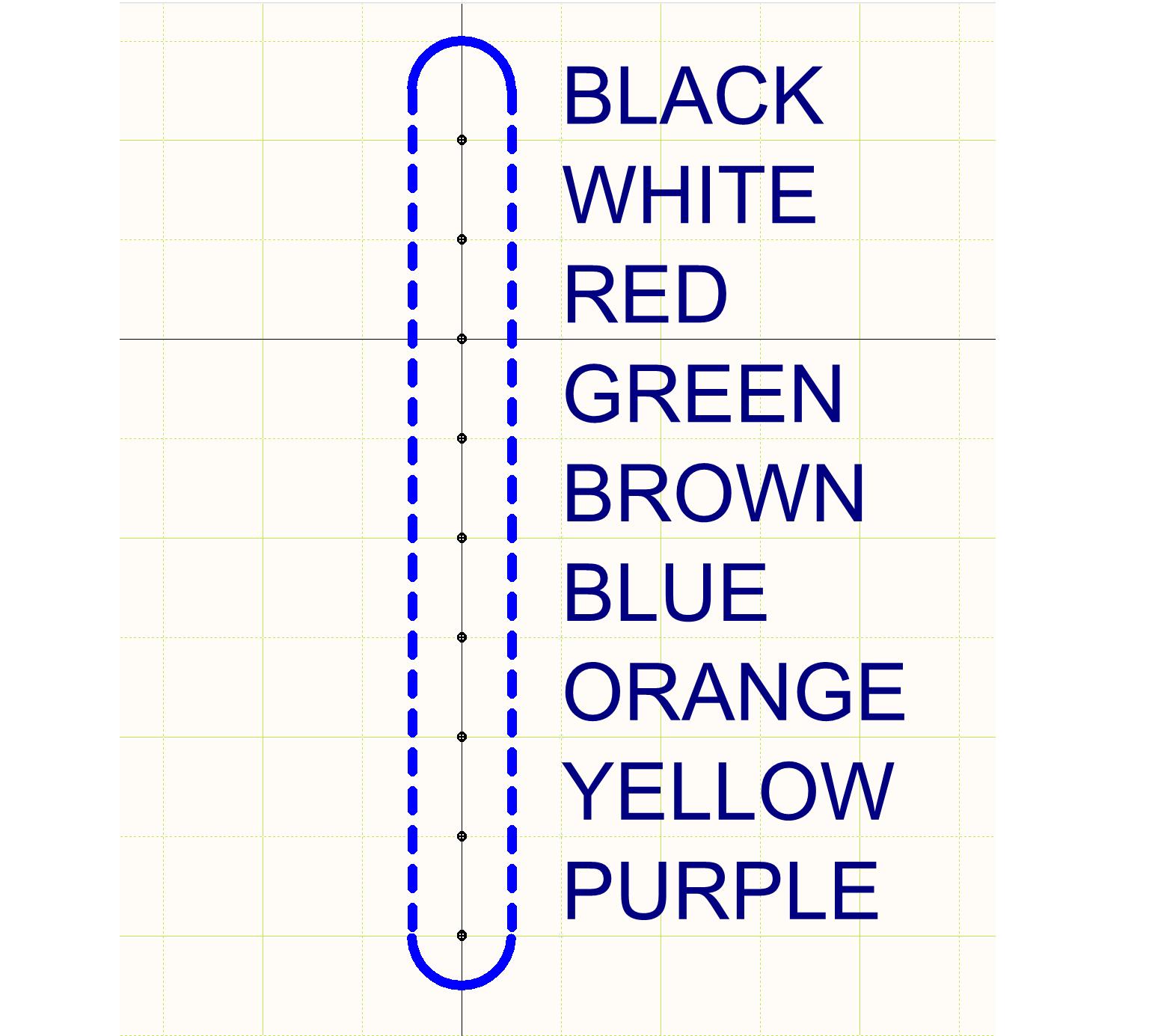 Abbildung 7.  Schaltplan-Symbol der Kabelzeichnung