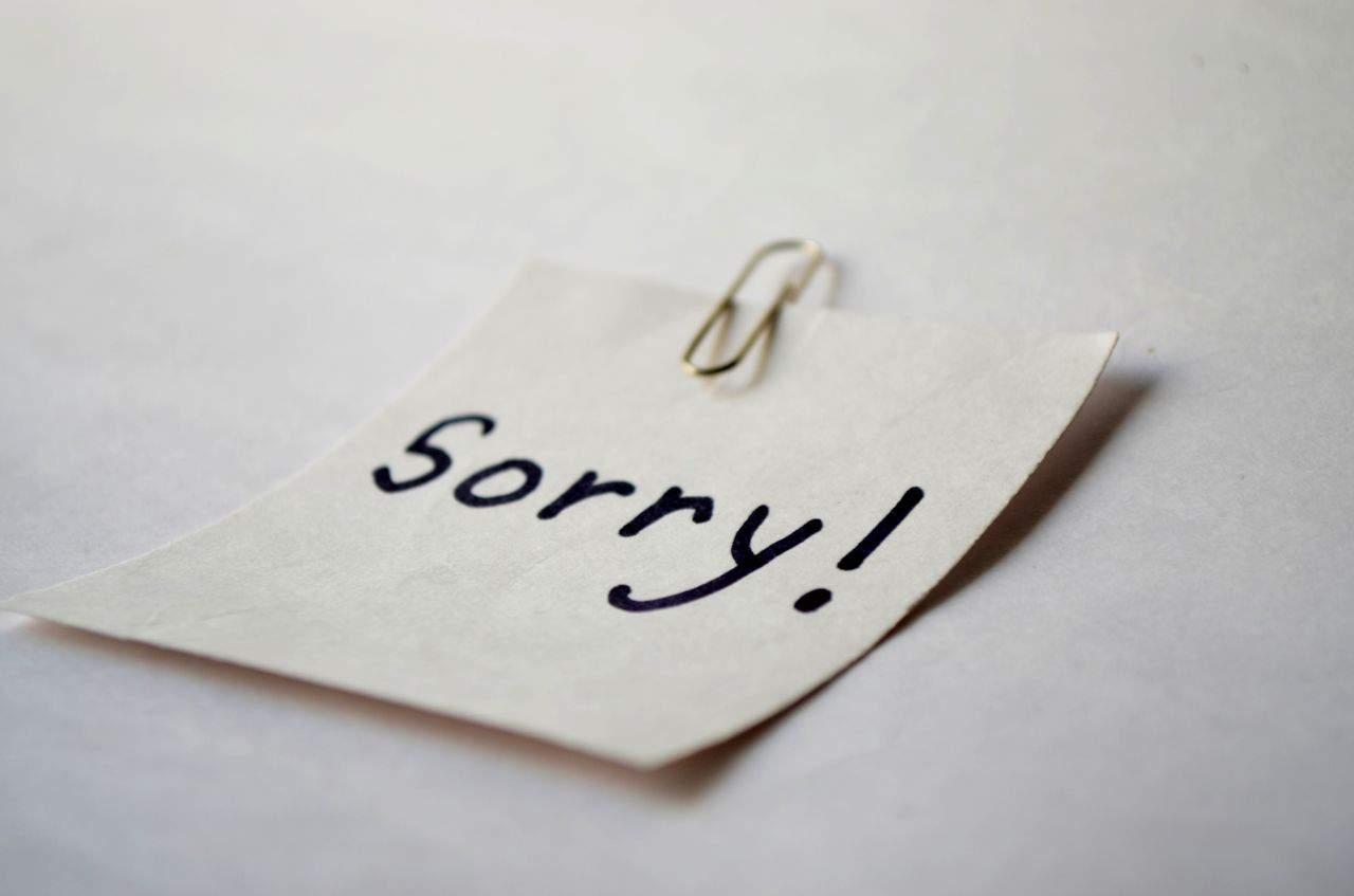 Nói lời xin lỗi chân thành với người ấy