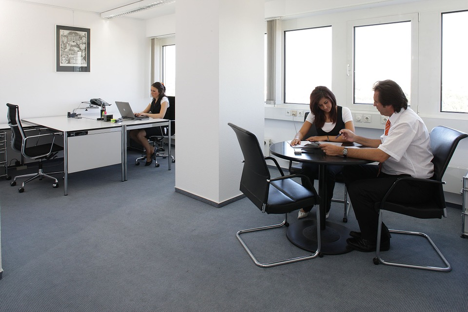 Office, Furniture, Colleagues, Staff, Sit, Meeting
