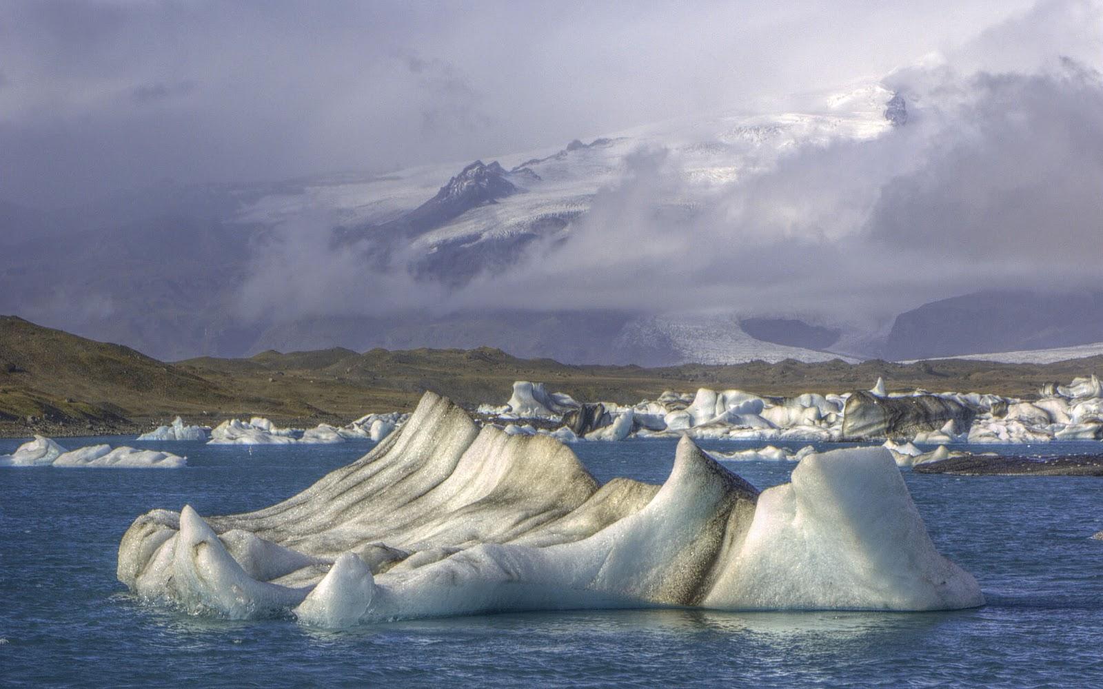 coolest places to stay, jokulsarlon, ice lake, iceberg on lake