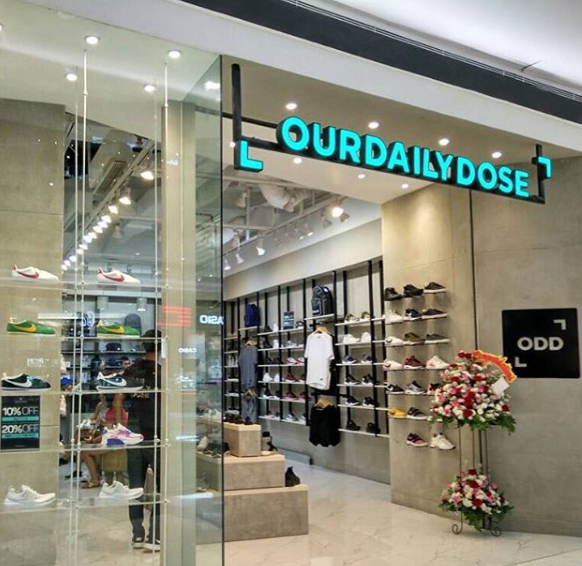 Our Daily Dose sneakers store