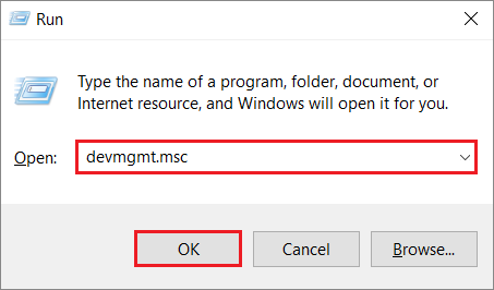 Open Device Manager to fix DVD Drive Not Working issue