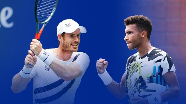 Andy Murray vs Felix Auger Aliassime