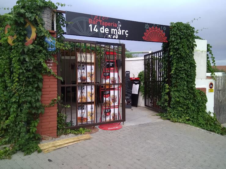 Taperia 14 de Març Carretera de Piera, 17, 08760 Martorell, Barcelona