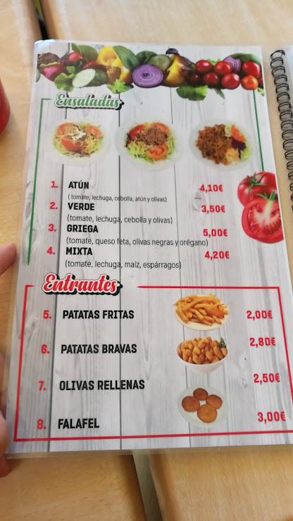 Tio Mario Döner Kebab Carrer del Coronel Sanfeliu, 74, 08820 El Prat de Llobregat, Barcelona