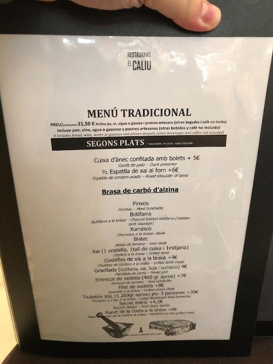 Restaurant El Caliu de Girona Carrer de Bernat Boades, nº45, 17005 Girona