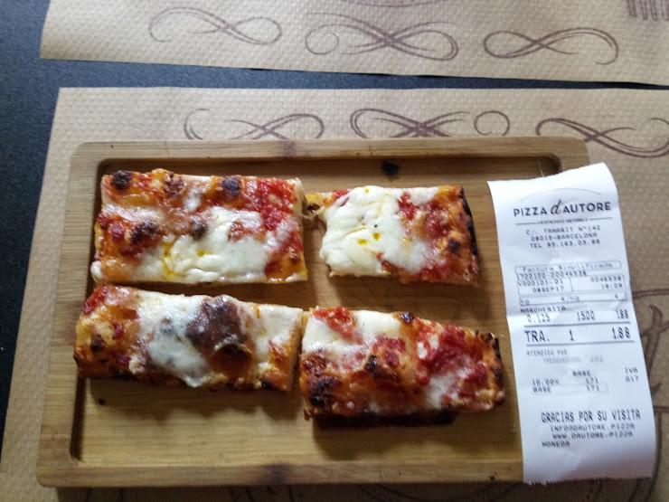 Pizza D'Autore Carrer de Tamarit, 142, 08015 Barcelona