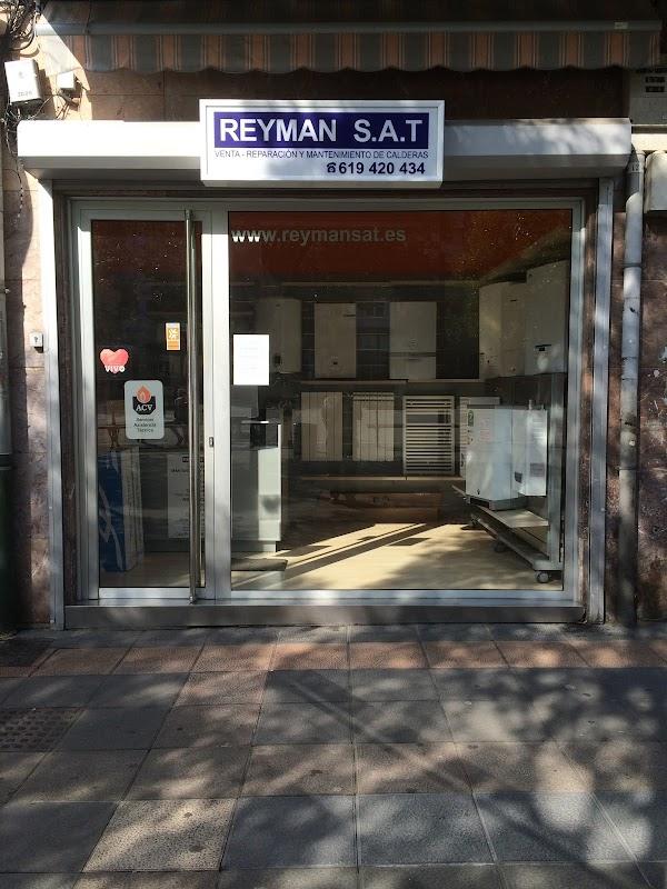 VENTA , REAPARACION Y MANTENIMIENTO DE CALDERAS ,CALEFACCION Y GAS  REYMAN-SAT