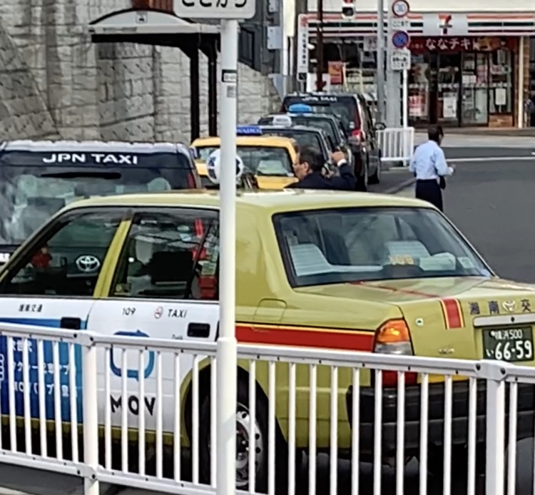 山手駅前タクシー乗り場