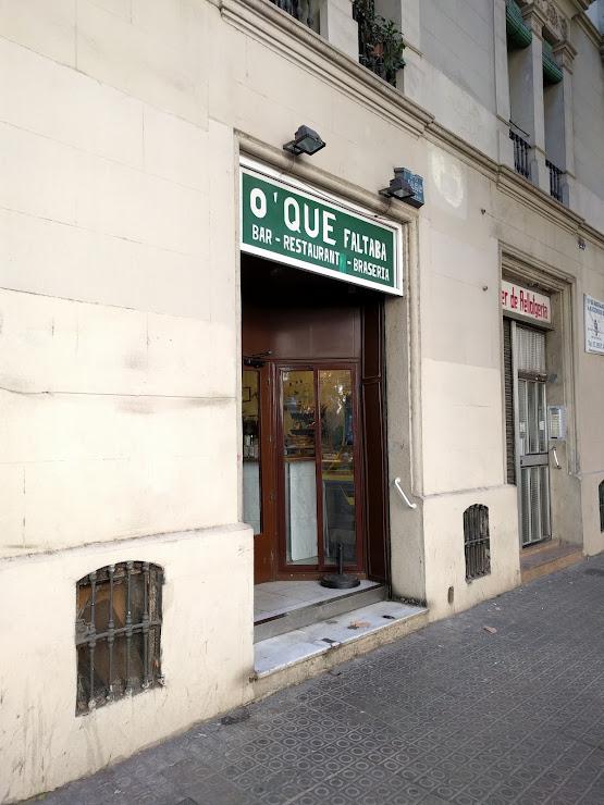 Restaurante Lo Que Faltaba Braseria Carrer de Viladomat, 27, 08015 Barcelona