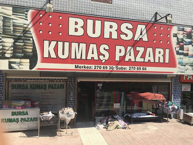 Si̇ncan Bursa Kumaş Pazari