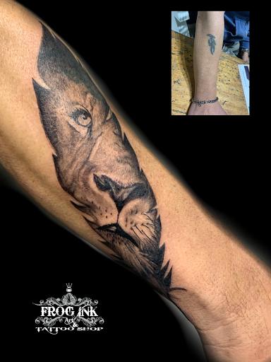 Frog ink