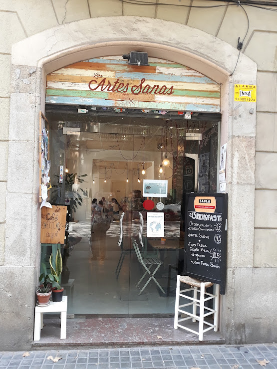 Las Artes Sanas Carrer de Trafalgar, 74, bajos 2, 08010 Barcelona